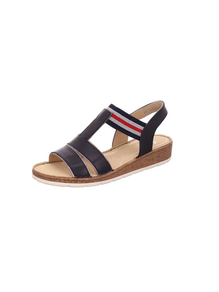 Ara Sandale von Ara, schwarz