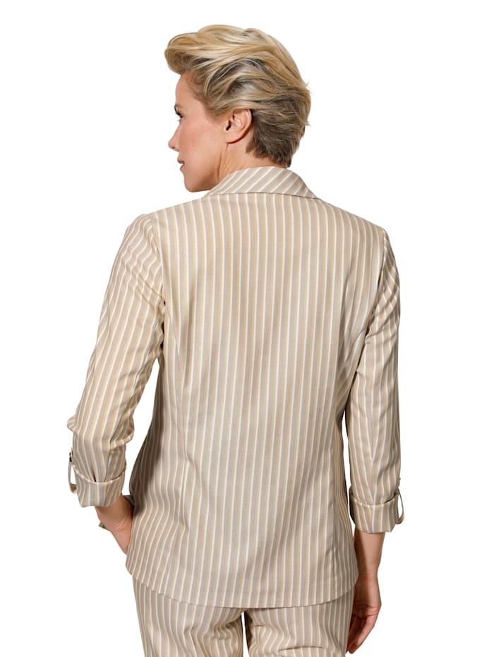 Veste à rayures tissées