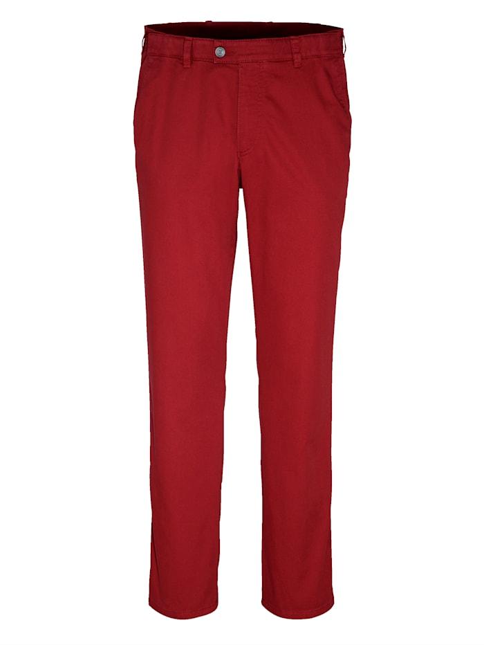 BABISTA Pantalon 7 cm de largeur supplémentaire à la taille, Rouge