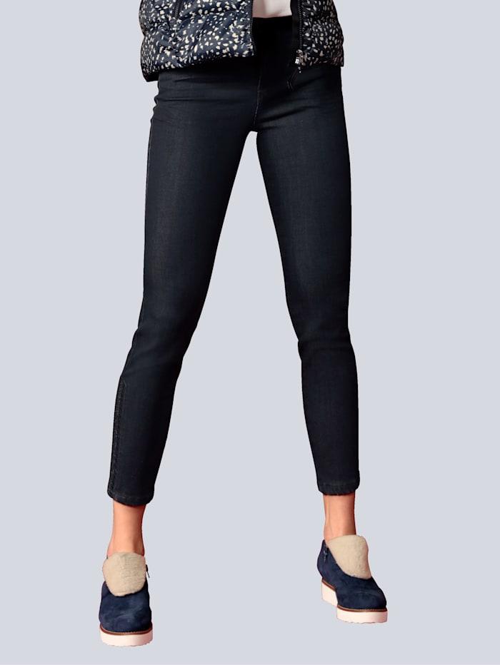 "BRAX Jeans Jeans ""Shakira S"" mit Hotfixsteinen, Blau"