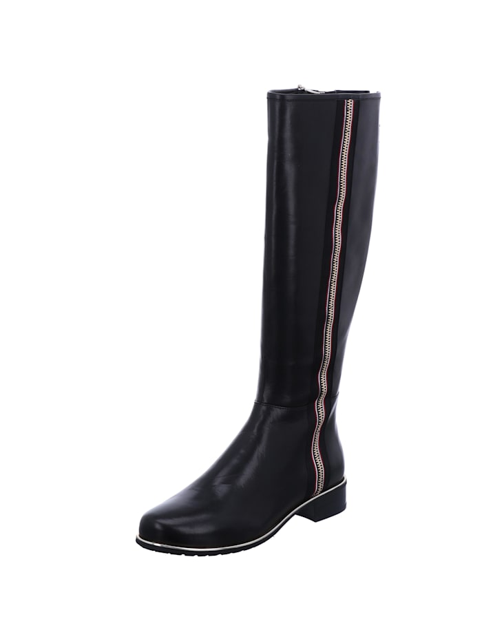 Tizian Tizian Damen-Stiefel Orlando 14, schwarz, schwarz