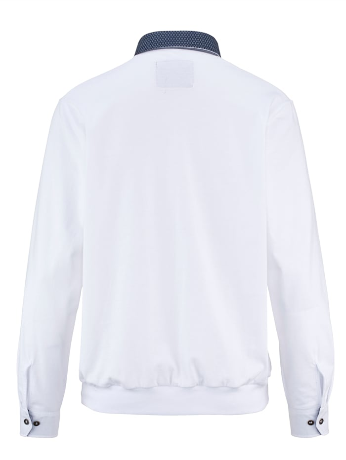 T-shirt en pur coton à base resserrée