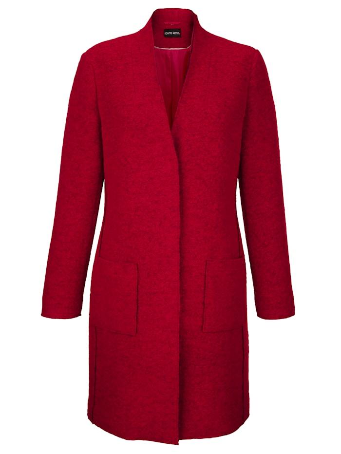 Manteau en laine mélangée