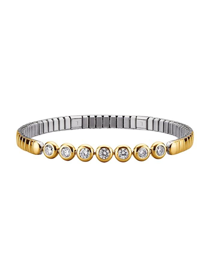 Magnetic Balance Magnetarmband i rostfritt stål, Flerfärgad