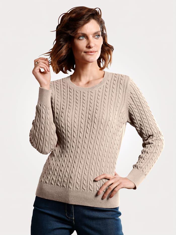 Pullover aus reiner Pima-Baumwolle