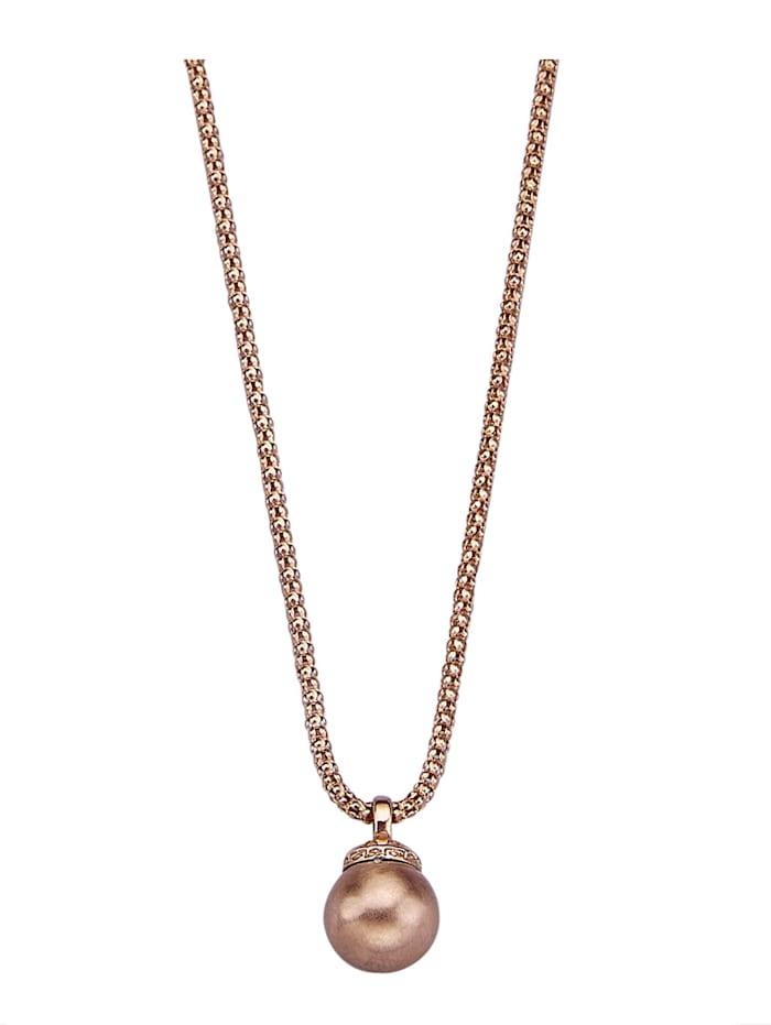 Pendentif 'perle' et chaîne