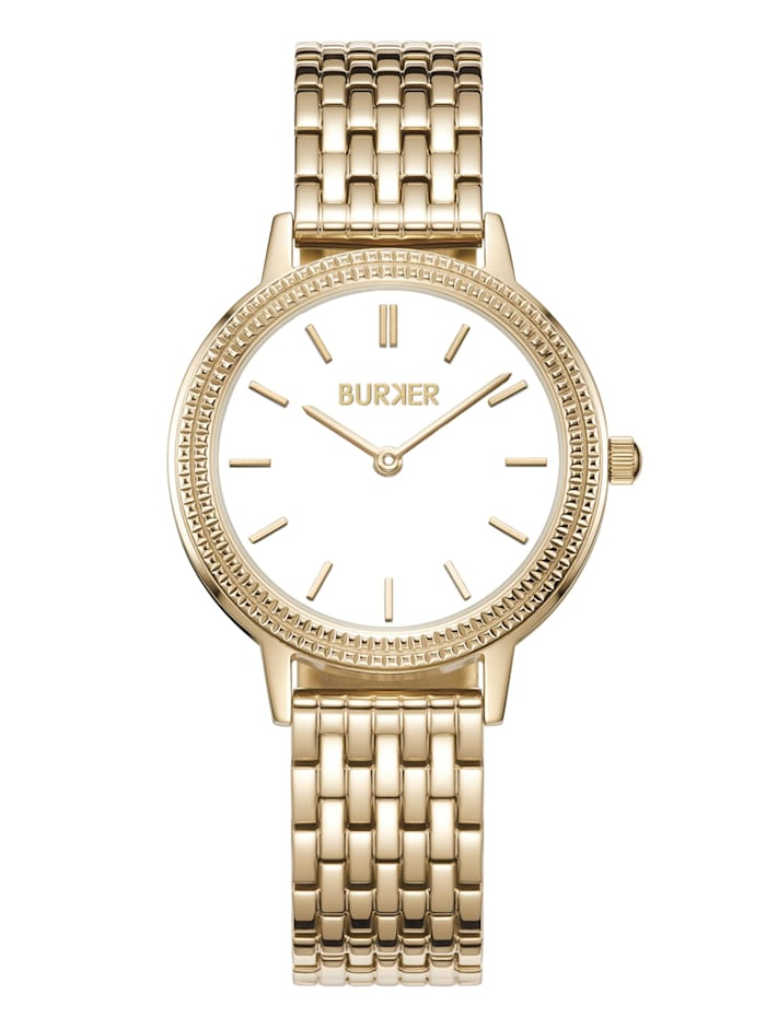 Burker Watches Uhr Lucy Gold White, gold/white