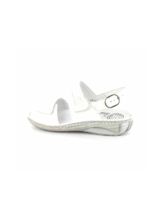 Damen Sandale in weiß