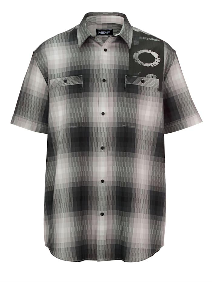 Overhemd met omslag aan de mouw