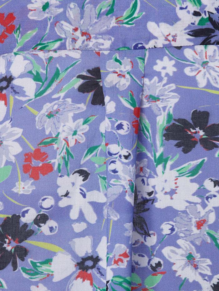 Tunika mit Blumen-Print