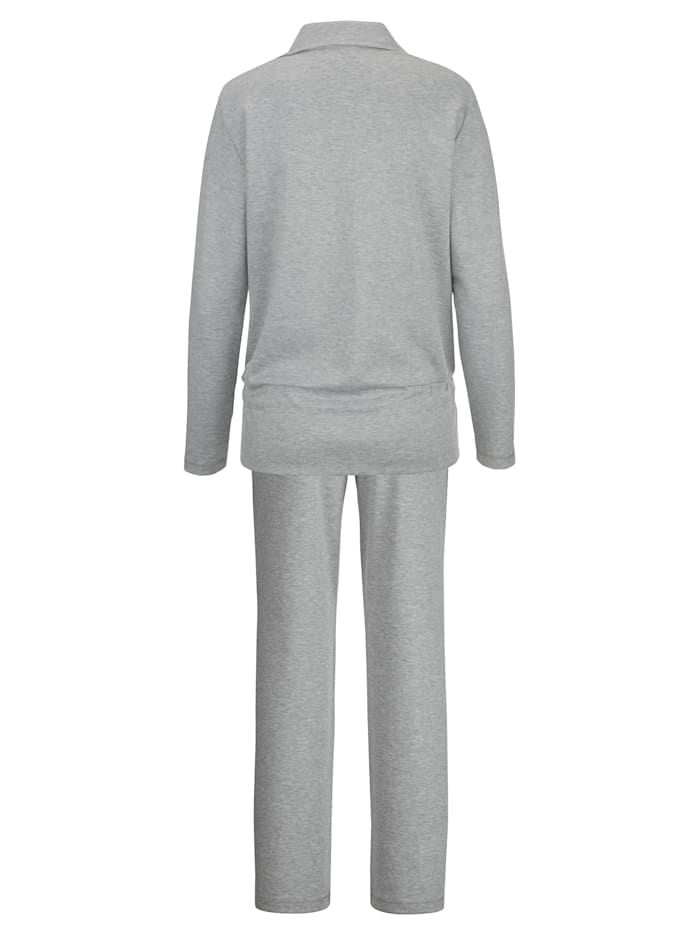 Loungewear Set with rhinestone detailing at the front