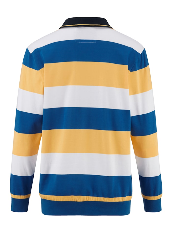 Sweatshirt mit maritimem Flair