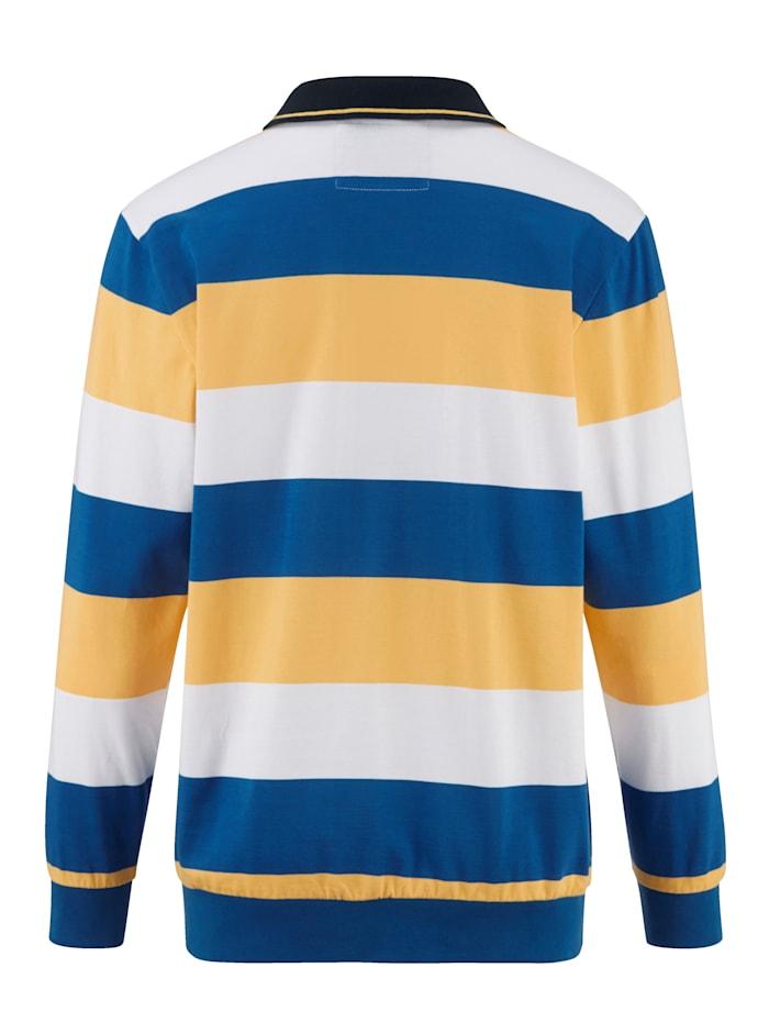 Sweatshirt met maritieme flair