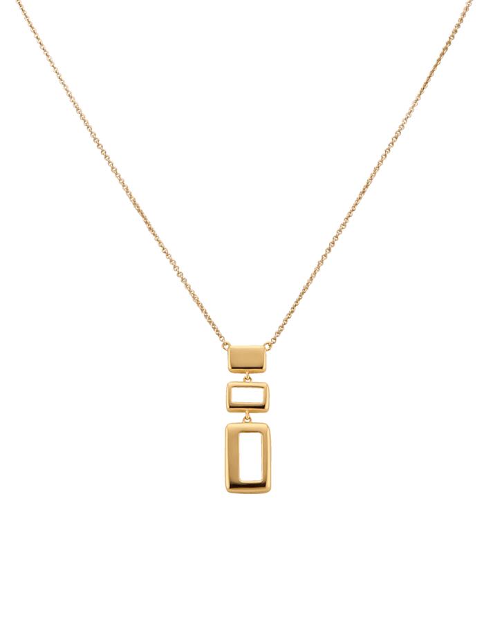 Diemer Gold Collier in Gelbgold, Gelb