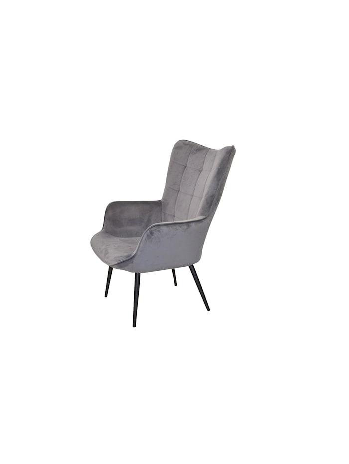 Möbel-Direkt-Online Polstersessel Ines, grau