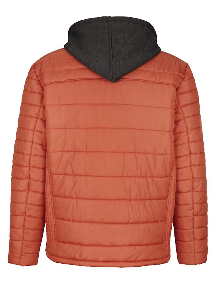 Jacke mit abnehmbarer Sweat-Kapuze