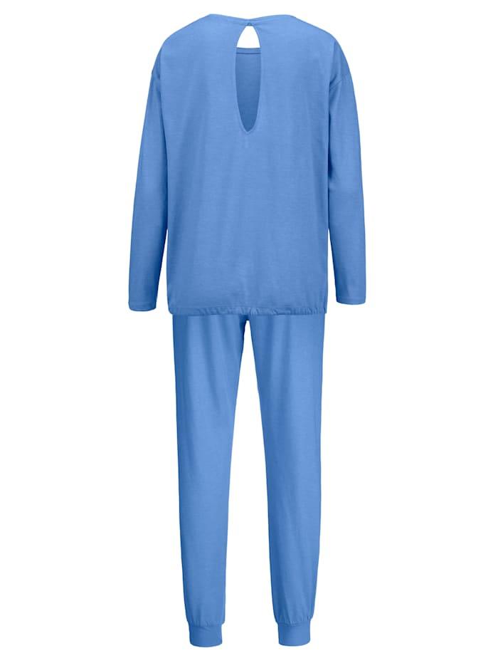 Metallisydämin somistettu pyjama
