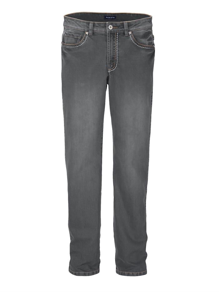 BABISTA Jeans mit dicken Nähten, Grau