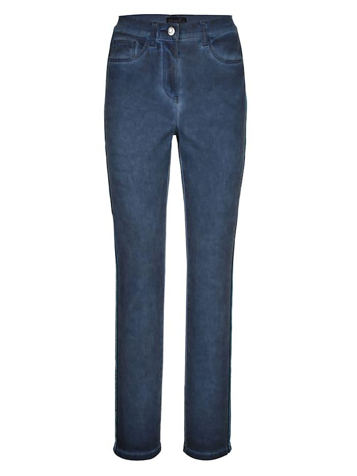 Dress In Pantalon de coupe Paola Slim, Bleu