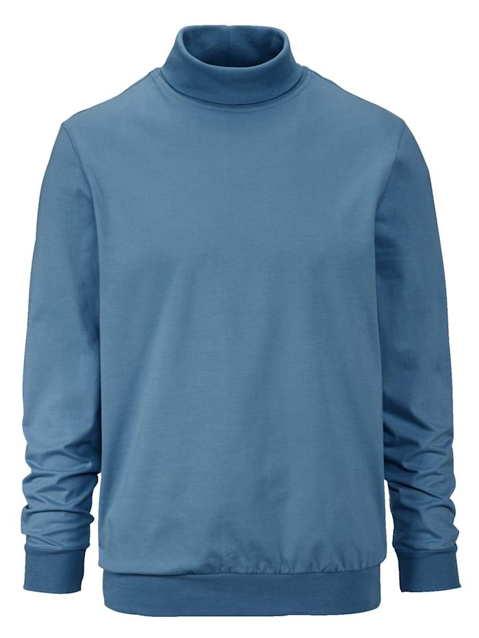 BABISTA Colshirt met elastische band, Lichtblauw