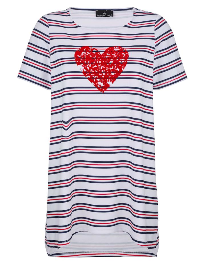 Shirt met maritiem design