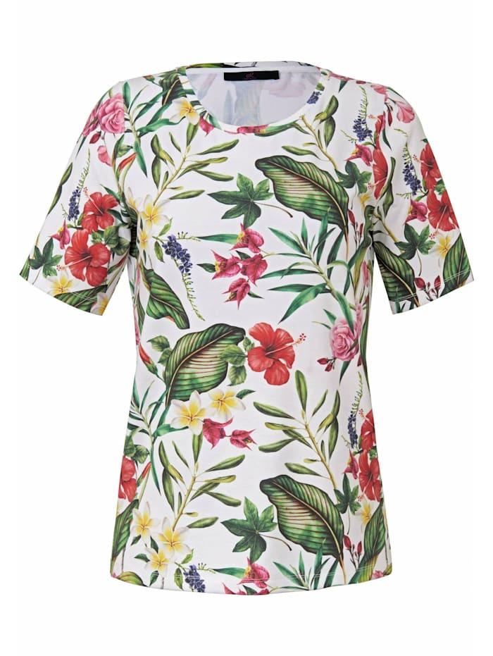 Emilia Lay Shirt Shirt ., weiß/multicolor
