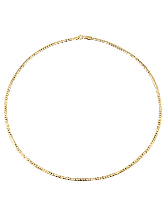 Chaîne chenille en or jaune