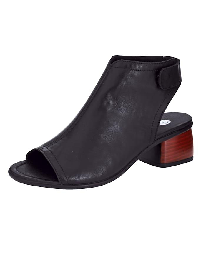 Remonte Sandale, Schwarz