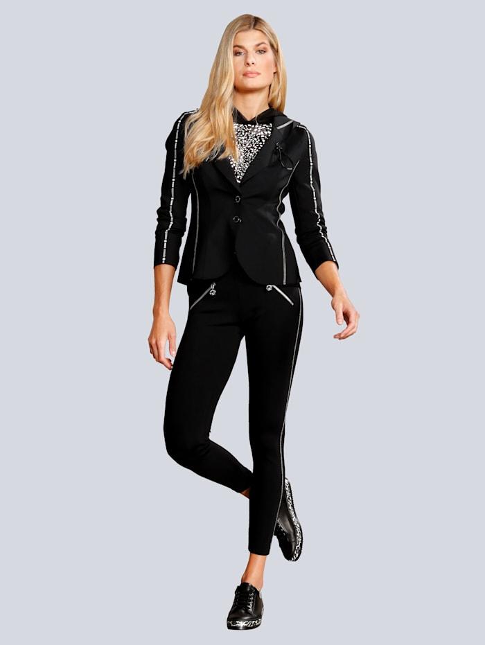 SPORTALM Hose im modischen Style, Schwarz