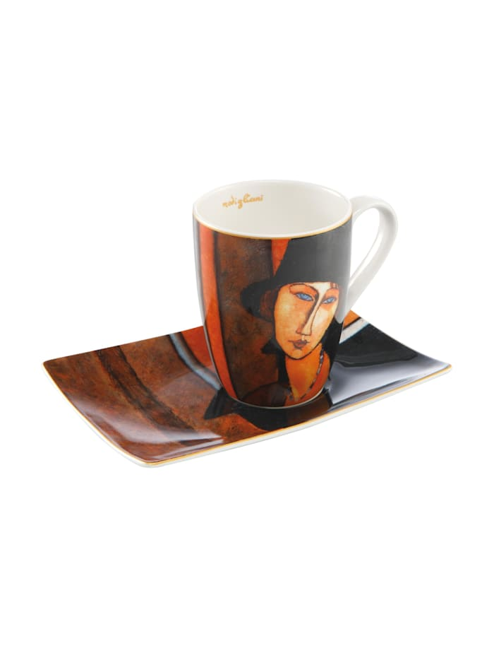 Goebel Goebel Künstlertasse Amedeo Modigliani - Frau mit Hut, Modigliani - Frau mit Hut