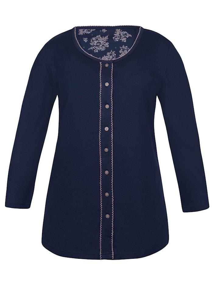 sassa Damen Langarm Shirt Winter Blue, midnight