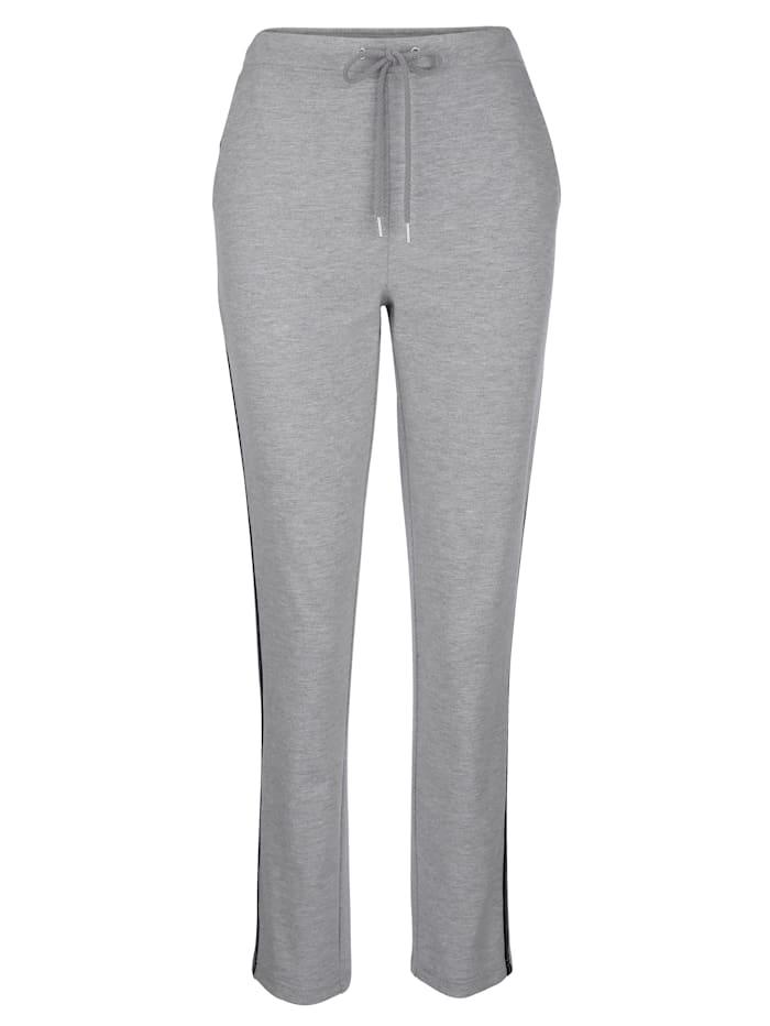 Lot de 2 pantalons de loisirs avec galon Lurex tendance