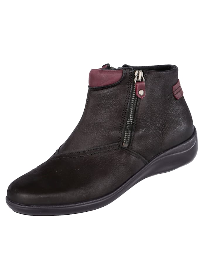 Naturläufer Ankle boots with soft lining, Black