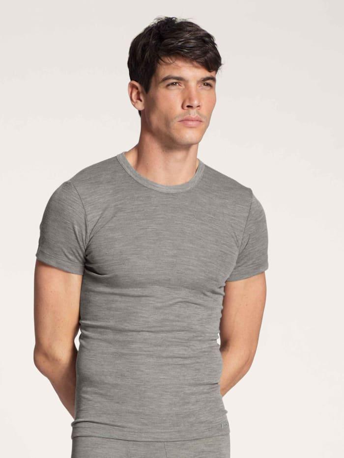 Shirt aus Wolle und Seide STANDARD 100 by OEKO-TEX zertifiziert