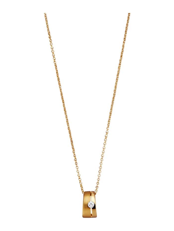 Golden Style Hanger met ketting, Geelgoudkleur
