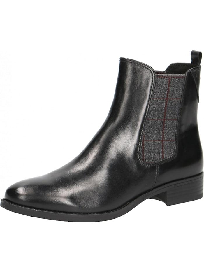 Caprice Chelsea Boots, schwarz