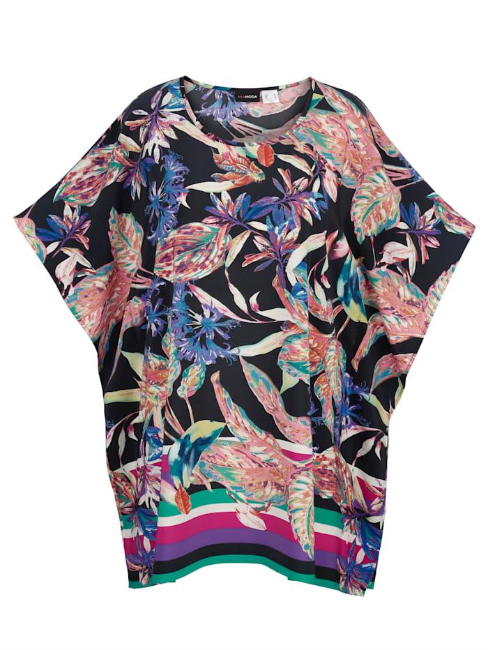 Tunika mit floralem Print