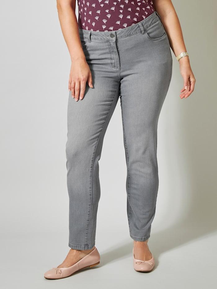 Janet & Joyce Jeans Slim Fit, Grau