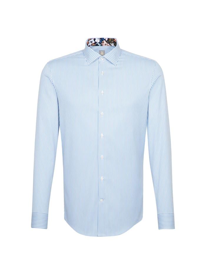Jacques Britt Business Hemd ' Slim Fit ', blau (0010)