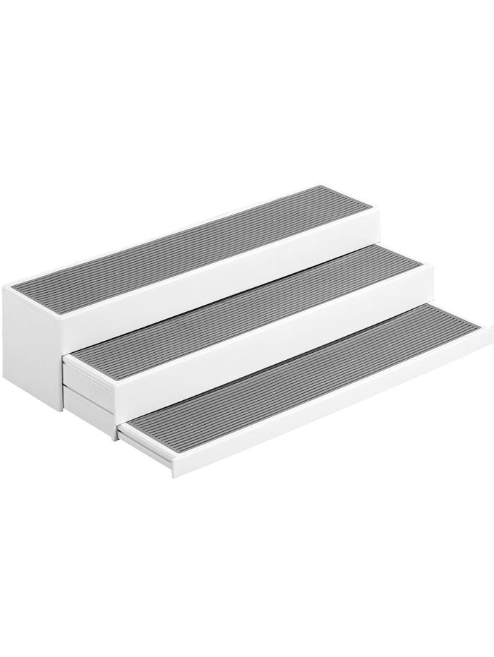 Wenko Küchenregal 'Steps', weiß/grau