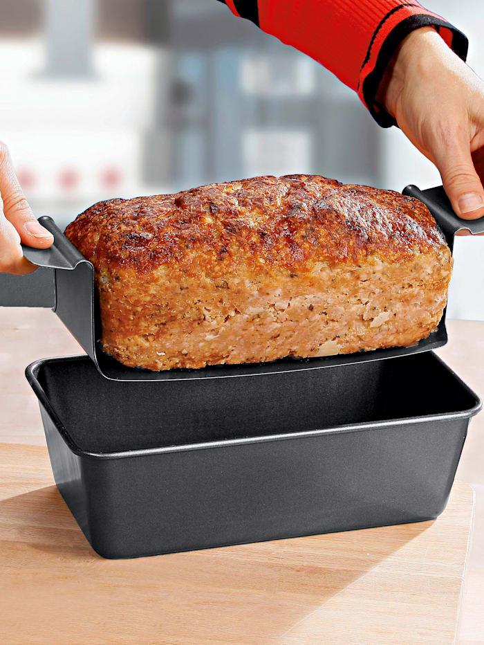 Form til kjøttpudding, svart