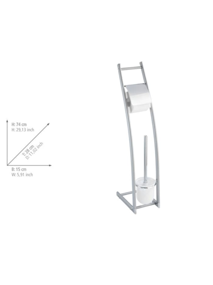 Aluminio Stand WC-Garnitur Alicante