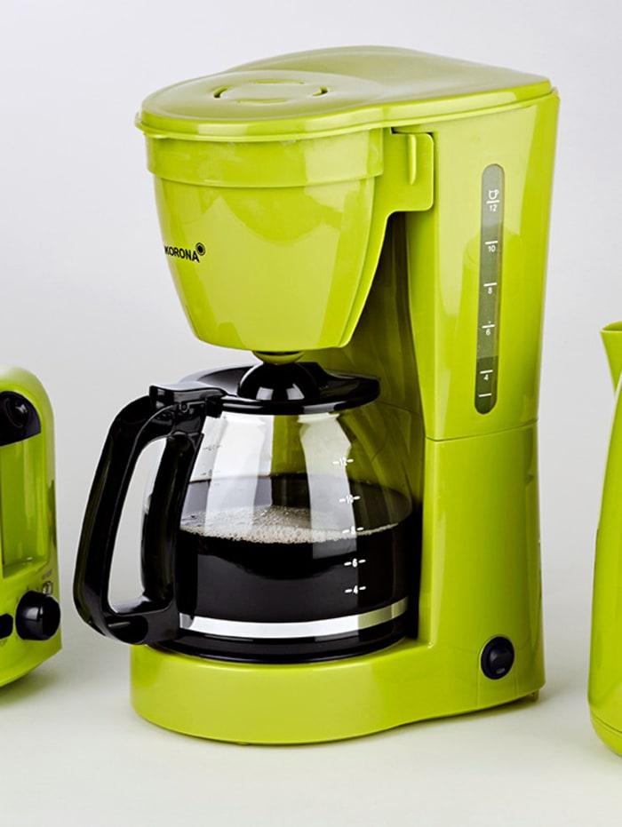 Machine à café 10118, pour 12 tasses, verte