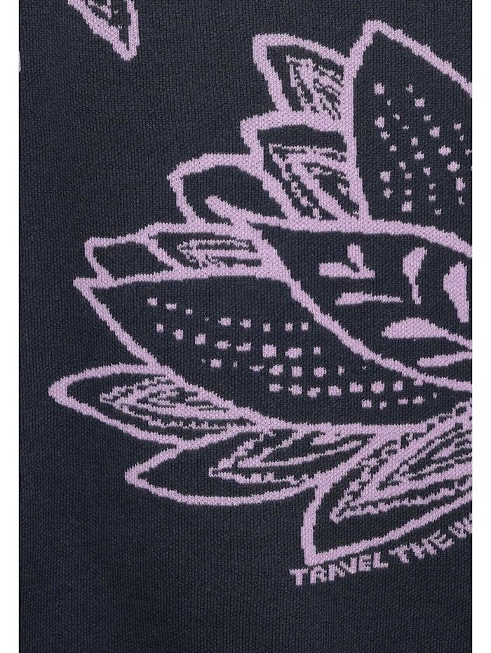 Pullover mit Blumenaufdruck