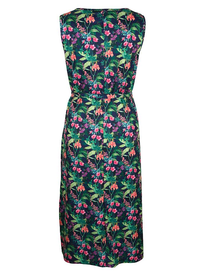 Jerseykleid mit floralem Druckdesign