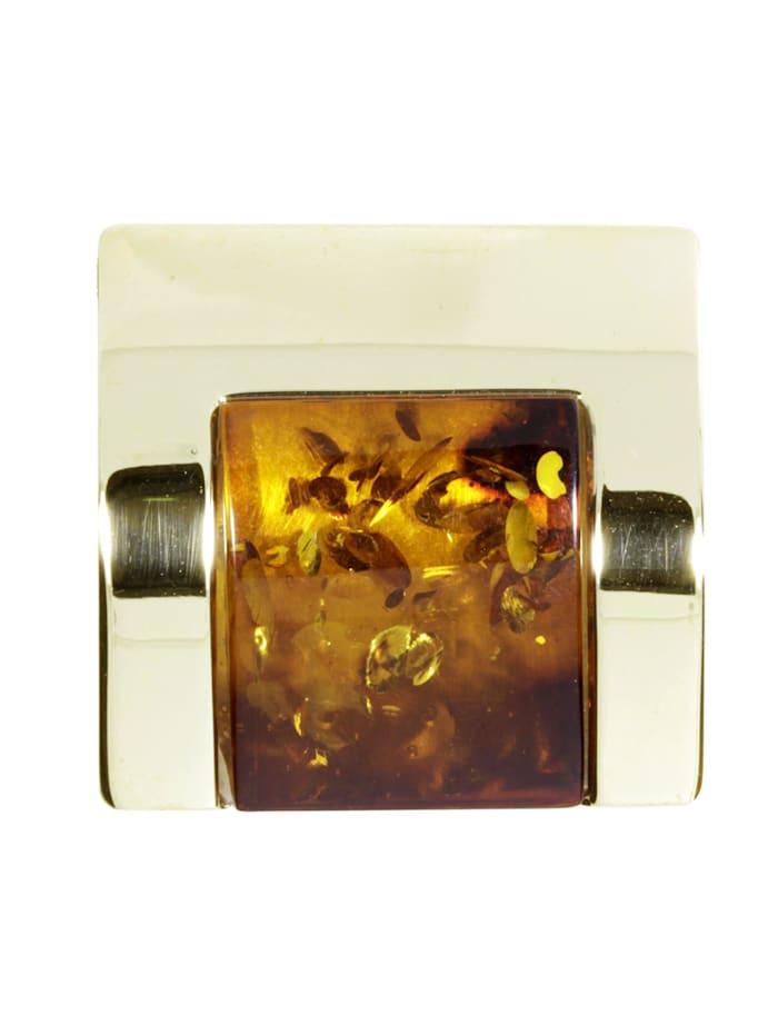 OSTSEE-SCHMUCK Anhänger - Gleiter-Urte - Gold 333/000 - Bernstein, gelb