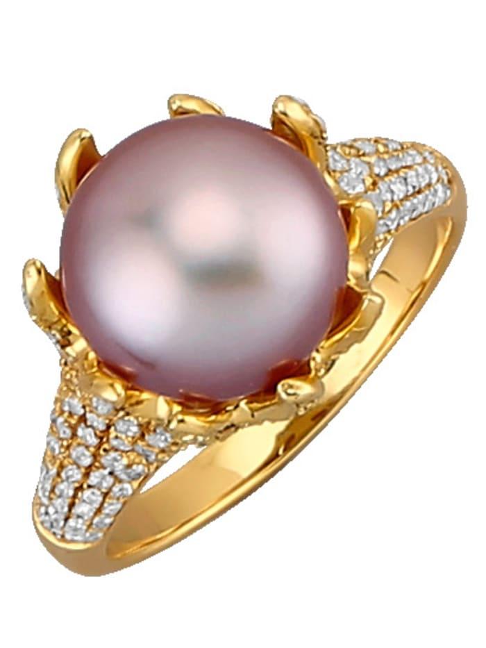 Diemer Perle Naisten sormus, Roosa