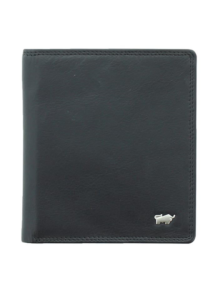 Braun Büffel Geldbörse GOLF 2.0 im eleganten Look H 12CS, schwarz