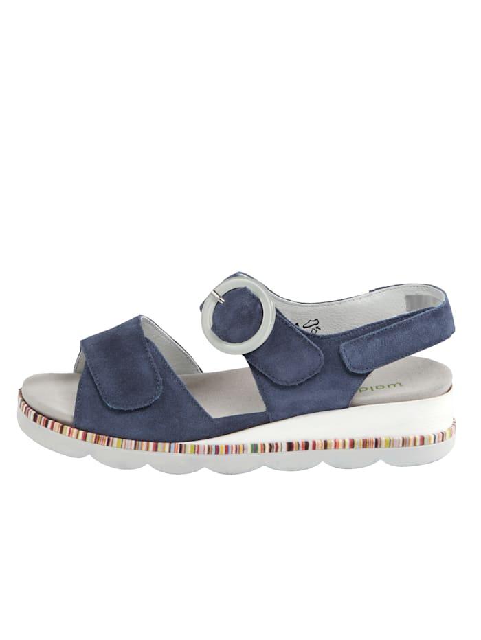 Sandaaltje met luchtgepolsterde zool