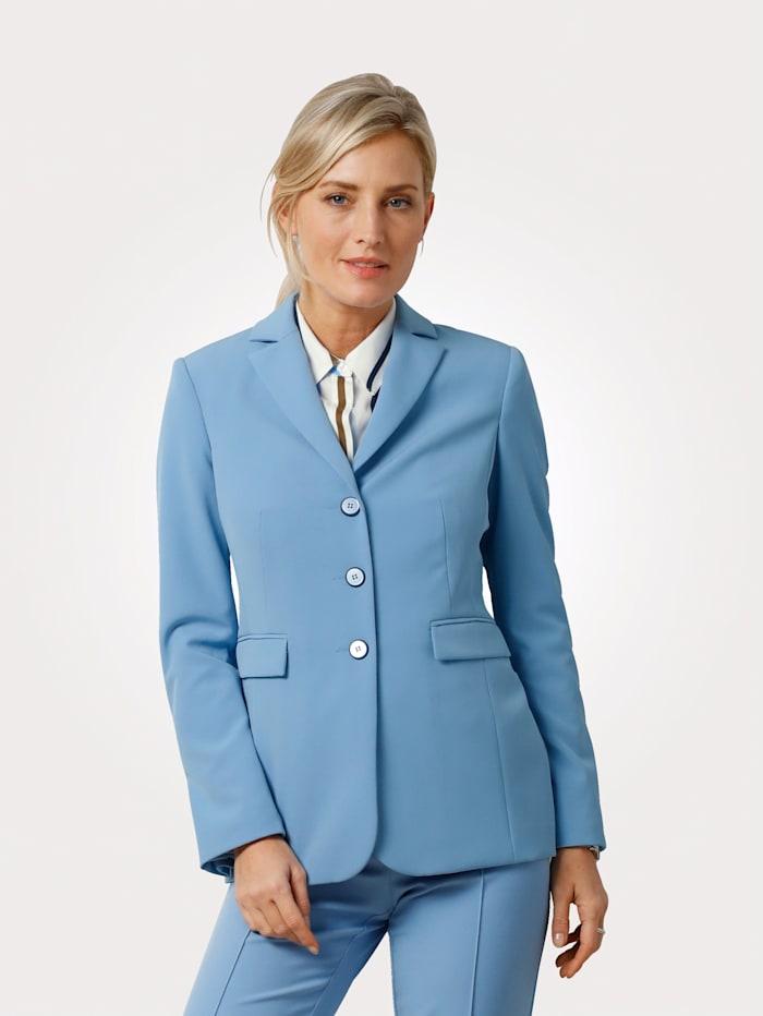 MONA Blazer à motif intemporel, Bleu ciel